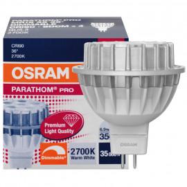 LED Lampe, Reflektor, PARATHOM PRO MR16, GU5,3 / 6,9W, 350 lm, 2700K, Osram