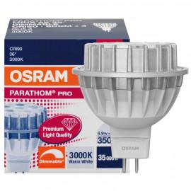 LED Lampe, Reflektor, PARATHOM PRO MR16, GU5,3 / 6,9W, 350 lm, 3000K, Osram