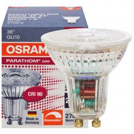 LED Lampe, Reflektor, GU10 / 3,7W (35W), 230 lm, PAR16, 3000K