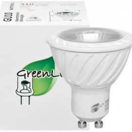 LED Lampe, Reflektor, GU10 / 5W, 310 lm, 3000K, Green LED