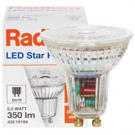 LED-Reflektorlampe, PAR16, RALED STAR, GU10