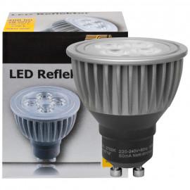 LED Lampe, Reflektor, GU10 / 5W, 300 lm, 900cd, 2700K, TS Electronic