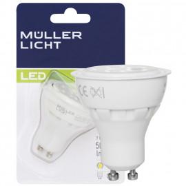 LED Lampe, Reflektor, GU10 / 7W, 500 lm, 2700K, Müller Licht
