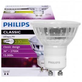 LED Lampe, Reflektor, CLASSIC LEDSpot, GU10 / 3,2W, 230 lm, 2700K, Philips