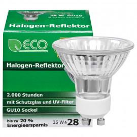 HV Reflektorlampe / Halogenlampe, GU10 / 28W, 200 lm, TS Electronic