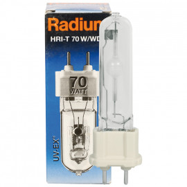 Halogenlampe, Metalldampf, RCC-TC UV-EX, G8,5 / 35W, 3700 lm, WDL, Radium