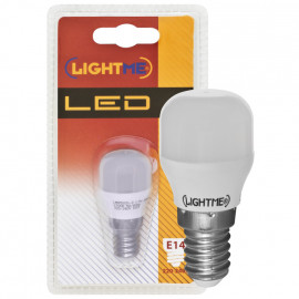 LED Lampe, Form Birne, E14 / 1,7W, opal, 110 lm, Lightme