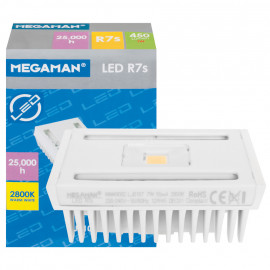 LED Lampe, Stab, R7s / 7W, 450 lm, 2800K, Megaman