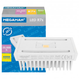 LED Lampe, Stab, R7s / 7W, 450 lm, 4000K, Megaman