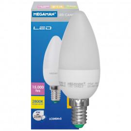 LED Lampe, Kerze, LED CLASSIC, E14 / 4W, 250 lm, Megaman