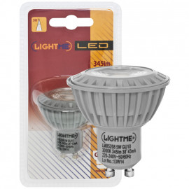 LED Lampe, Reflektor, GU10 / 5W, 345 lm, 800cd, 3000K, Lightme