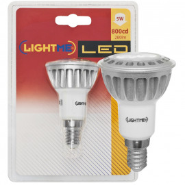 LED Lampe, Reflektor, R50, E14 / 5W, 280 lm, 800 cd, Lightme