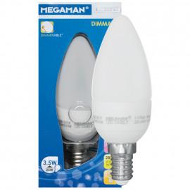 LED Lampe, Kerze, LED CLASSIC, E14 / 3,5W, 250 lm, Megaman