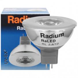 LED Lampe, Reflektor, RaLED, MR16, GU5,3 / 2,8W, 3500K, Radium