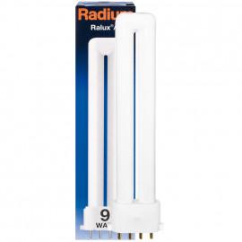 Lampe, Energiespar, RALUX/E, 2G7 / 9W, 600 lm, LF 827, Radium