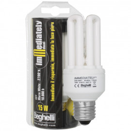 Lampe, Energiespar, IMMEDIATELLY DUAL, E27 / 15W, 800 lm, LF 827, Beghelli