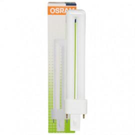 Lampe, Energiespar, DULUX S, G23 / 11W, 900 lm, LF 840, Osram