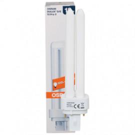 Lampe, Energiespar, DULUX D/E, G24q-1 / 13W, 900 lm, LF 840, Osram