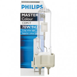 Halogenlampe, Metalldampf, MASTER COLOUR, CDM-T, G12 / 70W, 6300 lm, NDL, Philips