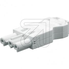 Steckverbinder Buchsenteil 230V / 16A weiß
