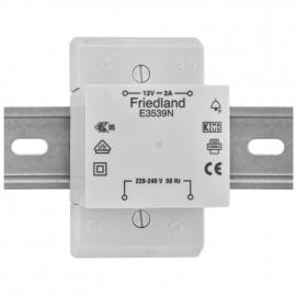 AP Klingeltrafo, E3539N, auch für Reiheneinbau, primär 230V, sekundär 12V / 2A
