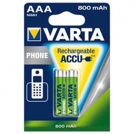 Akku, PROFESSIONAL, NiMh, 1,2V / 800 mAh, Micro, AAA (Blisterware)