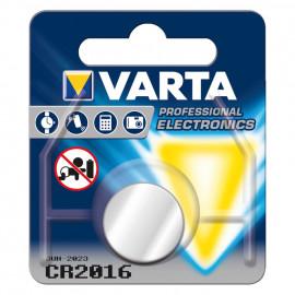Knopfzelle, Lithium, CR 2016, 3V - Varta