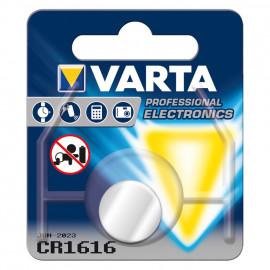 Knopfzelle, Lithium, CR 1616, 3V - Varta