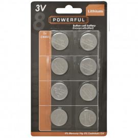 Knopfzellen, Lithium, CR 2025