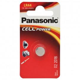 Knopfzelle, Alkaline, LR44 / AG13, 1,5V - Panasonic