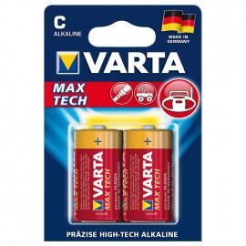 Batterie, MAX TECH, Alkaline, Baby, C, 1,5V - Varta