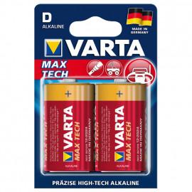 Batterie, MAX TECH, Alkaline, Mono, D, 1,5V - Varta