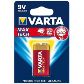 Batterie, MAX TECH, Alkaline, Block, 9V - Varta