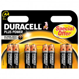Batterie, PLUS POWER, Duralock, Alkaline, Mignon, LR6, 1,5V, AA - Duracell