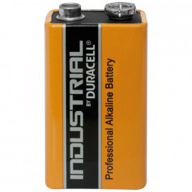 Batterie, INDUSTRIAL, Alkaline, Block, 6LR61, 9V - Duracell