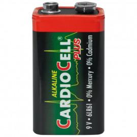 Batterie, Alkaline, Block, 6LR61, 9V - Cardiocell