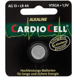 Knopfzelle, Alkaline, LR44 / AG13, 1,5V - Caediocell
