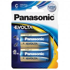 Batterie, EVOLTA, Alkaline, Baby, 1,5V, C  - Panasonic