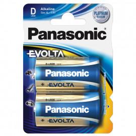 Batterie, EVOLTA, Alkaline, Mono, 1,5V, D  - Panasonic