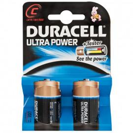 Batterie, ULTRA POWER, Alkaline, Baby, LR14,1,5V, C - Duracell
