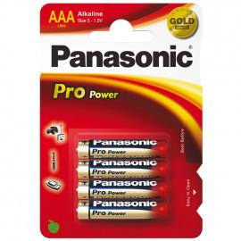 Batterie, PRO POWER, Alkaline, Micro, LR03PPG, 1,5V, AAA - Panasonic