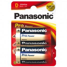 Batterie, PRO POWER, Alkaline, Mono, LR20PPG, 1,5V, D - Panasonic