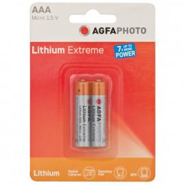 Batterie, LITHIUM EXTREME, Lithium, Micro, AAA, 1,5V / 2900 mAh (Blisterware)