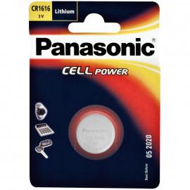 Knopfzelle, Lithium, POWER CELLS, CR 1616, 3V - Panasonic