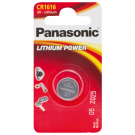Knopfzelle, Lithium, POWER CELLS, CR 2450, 3V - Panasonic