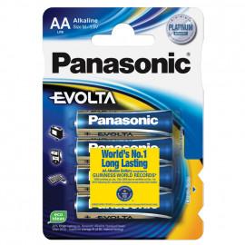 Batterie, EVOLTA, Alkaline, Mignon, 1,5V, AA  - Panasonic