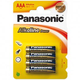 Batterie, POWER, Alkaline, Micro, LR03AP, 1,5V, AAA  - Panasonic