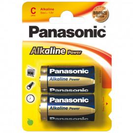 Batterie, POWER, Alkaline, Baby, 1,5V,LR14AP, 1,5V, C  - Panasonic