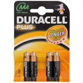 Batterie, PLUS, Alkaline, Micro, 1,5V, LR03, AAA - Duracell