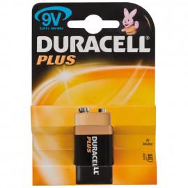 Batterie, PLUS, Alkaline, Block, 6LR61, 9V - Duracell